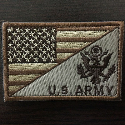 U.S. ARMY American Flag USA Military US Tactical Morale Badge Emblem Medal Patch