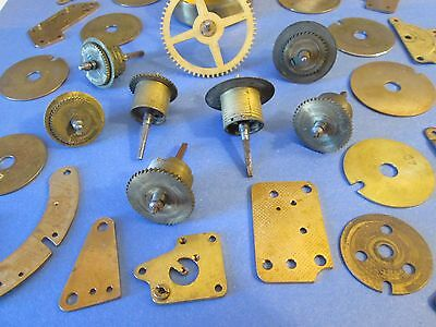 35 Assorted Clock Parts & Hardware for Your Antique & Vintage Clocks