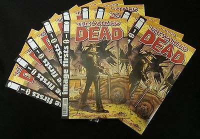 The Walking Dead #1 * Image Firsts Edition * Lot Of 10 Issues * Free Shipping!!!