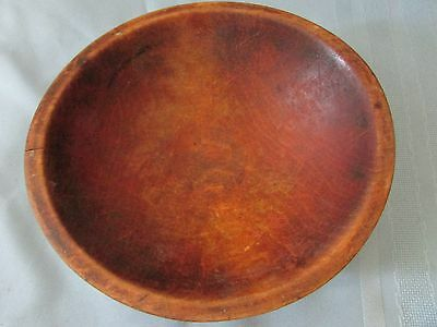"Signed Munising  8"" Wooden  Bowl - Out of Round"