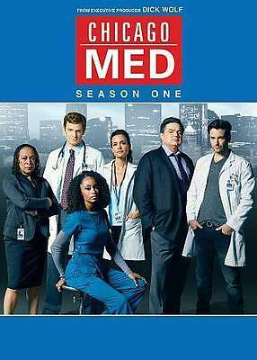 Chicago Med:The Complete First Season 1 One (DVD, 2016, 5-Disc Set) NEW