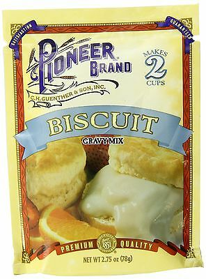 Pioneer Biscuit Gravy Mix 2.75 Ounce (Pack of 12)