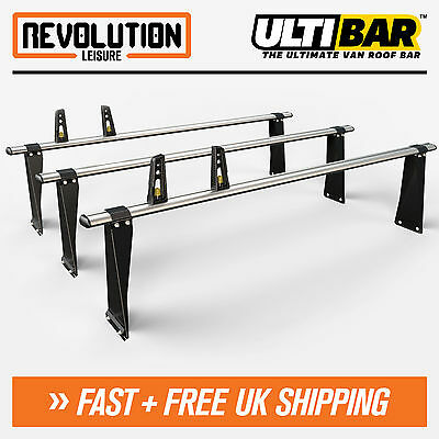 Ford Transit Roof Rack Bars 3 x Van ULTI Bar SWB Medium + All High Roof 00-14