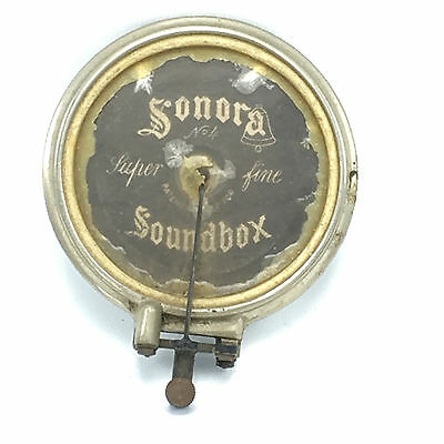 Sonora No. 4 Soundbox Reproducer Super Fine