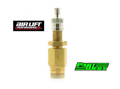 "Air Lift Push-to-Connect Inflation Valve- PCT 1/4"" Tube Air Lift Suspension"