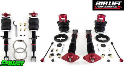 Air Lift Performance Front Rear Air Ride Suspension Struts Bags Fits Nissan 350Z