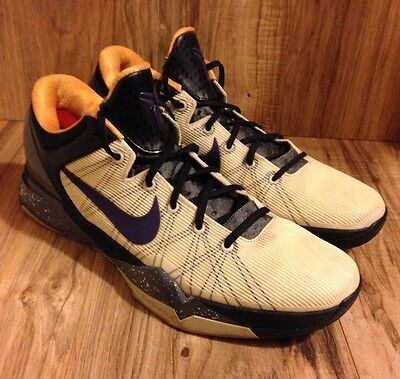 RARE🔥 Nike Zoom Kobe VII 7 System Opening Day Lakers Purple Gold 488371-103 06d9a294c