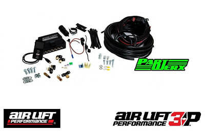"Air Lift Performance 3P 1/4"" Line No Tank No Compressor Air Ride Suspension New"