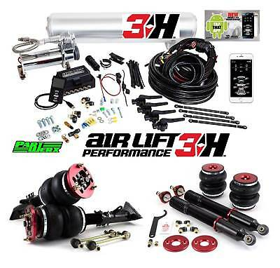 BMW E36 318i 320i 328i Air Lift 3H 3/8″ Management + Performance Air Ride Bag...