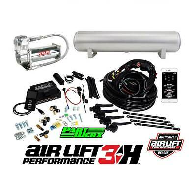 Air Lift Performance 3H 3P Management with 4 Gall Aluminum Tank & Viair 444c ...