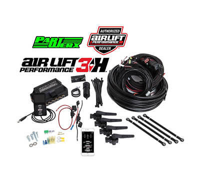 "Air Lift Performance 3H Complete Management with 1/4"" Line - Air Ride Suspension"