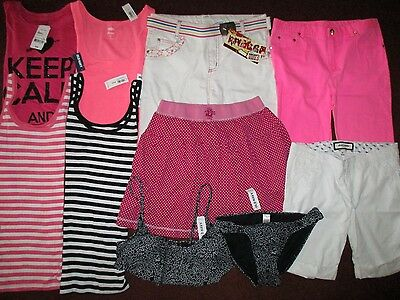 Girls Size 16 & Jr. Summer Lot Old Navy Abercrombie Clothes & Outfits NWT'S EUC