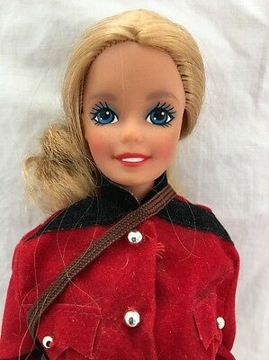 Vintage SUPERSTAR Canada RCMP Barbie Doll Royal Canadian Mounted Police