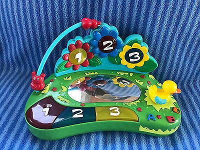 Evenflo Triple Fun Fish Pond Exersaucer 123 Pond Mirror Toy Replacement Part
