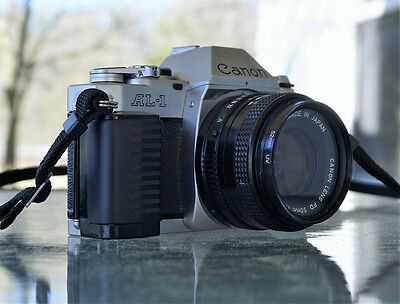 Canon AL-1 with 50mm F1.8 lens