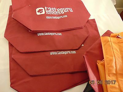 Lot Of 10 Reusable Eco-Friendly Shopping Bags Tote 6-New 4-Pre-Owned