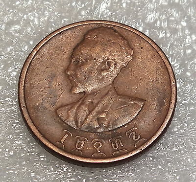 1944-P--Ethiopia--10 Cents--Us Minted