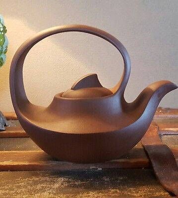 Vintage Chinese Yixing Red Clay Teapot -  Perfect.