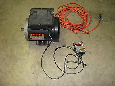 Reliance Electric 1/2HP Motor 1725RPM 115/230VAC 1-Phase