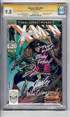 X-Men #266 CGC 9.8(SS)6 signatures WP '1st App...Gambit....Mystique.! Very Rare!