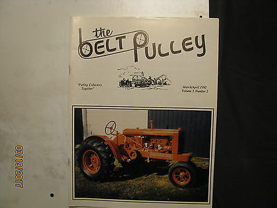Allis Chalmers WC The Belt Pulley Magazine