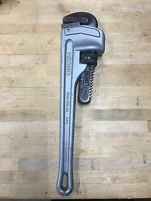 "Ridgid 31095 14"" Aluminum Straight Pipe Wrench"