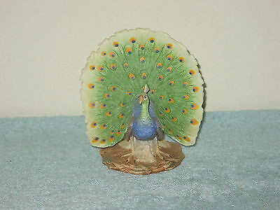 Peacock Figurine Breakable in nice condition #2