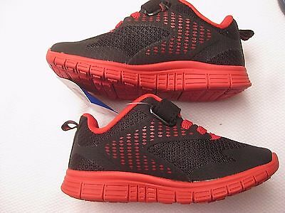BRAND NEW Black Pimento Red Trim Liner Boys Sneakers Shoes  STARTER Size 7