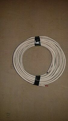 25' 14-3 Romex wire with ground. indoor use only.