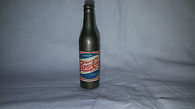 Vintage Metal Pepsi-Cola Bottle Lighter with Advertising- never been used