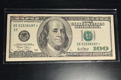 1 RIGID Plastic Case US Paper Dollar Bill CURRENCY Sleeve Holder $1 $2 $100 Note