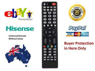 REMOTE CONTROL FOR HISENSE TV 65K390PAD 65K680UAD 75T910UAD Replacement