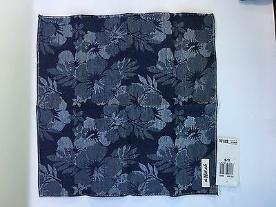 Pocket Square/Handkerchief From Bloomingale's. 100% Cotton Retails for $40