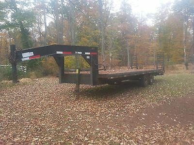 Gooseneck trailer 24 Foot with Dovetail