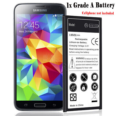 New High Capacity 5400mAh Battery f Verizon Samsung Galaxy S5 SM-G900V Cellphone