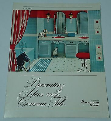 American Olean Decorating Ideas With Ceramic Tile Catalog Floors Walls 1966