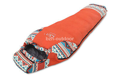 Ethnic White Duck Down Ultra Light Camping Hiking Outdoor Mummy Sleeping Bag