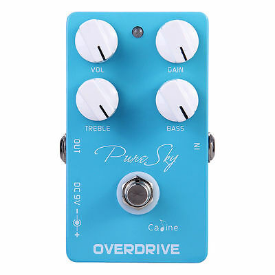 Caline CP-12 vintage overdrive Guitar Effects pedal overdrive guitar effect driv