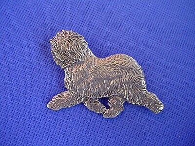 Old English Sheepdog Trotting Pin #58A Herding Dog Jewelry by Cindy A. Conter