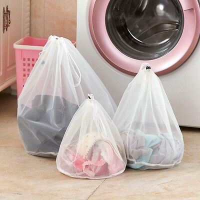 Hot! Washing Machine Used Mesh Net Bags Laundry Bag Large Thickened Wash Bags