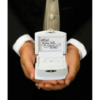 Wedding Ring Box Ceremony Ring Bearer Pillow Alternative Decoration Supplies