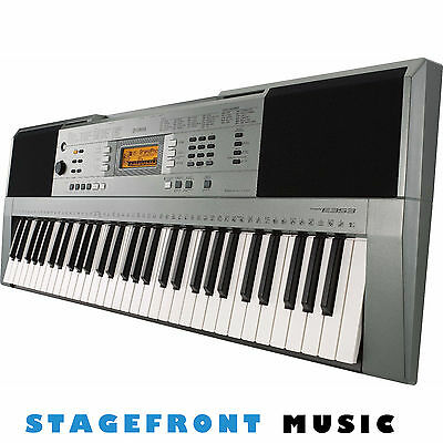 YAMAHA PSR-E353 ELECTRONIC KEYBOARD CONNECT TO iPhone/iPod/iPad APP COMPATIBLE