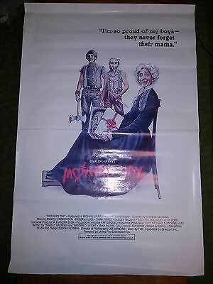 Mother's Day Vintage Rare Horror Movie Film Poster 41'' x 27''