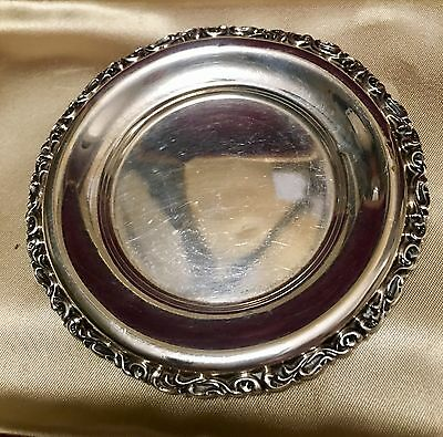 Sterling Silver Small Round Plate 1.3oz