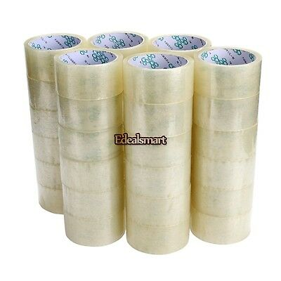 "36 rolls Carton Sealing Clear Packing/Shipping/Box Tape-  2"" x 55 Yards"