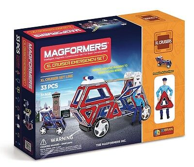 Magformers 274-23 - Magformers XL Cruisers Emergency Set Neu und OVP
