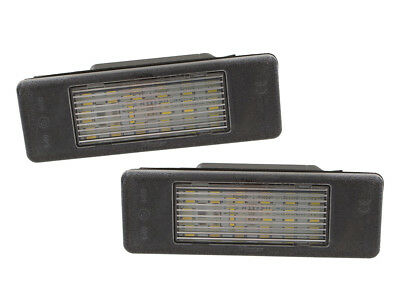 Mercedes Sprinter Vito Viano Rear Number License Plate Light Lamp 2X Led