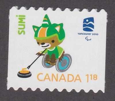 CANADA 2009  #2309ii Vancouver 2010 Olympics (Mascot Sumi) - Unused from coil