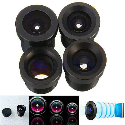 """1.8/2.1/6/8/12/16/25MM Fixed CCTV IR Camera Lens for 1/3"""" &1/4"""" CCD F2.0 Board"""