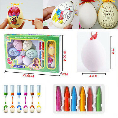 Easter Eggs DIY Eggs Learning Activity Game Toy Baby Child gift Puzzle toys BO